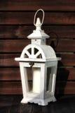 White gardens lantern Royalty Free Stock Photo