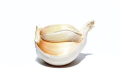 White garlic Stock Photos