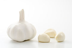 White garlic Stock Image