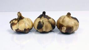 White Garlic Stock Image