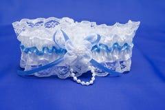 White garter Stock Image
