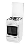 White gas cooker isolated.jpg Royalty Free Stock Image