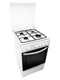 White gas-stove Royalty Free Stock Photos