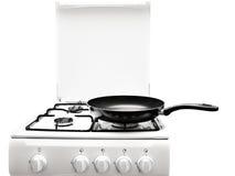 White gas-stove Stock Photos