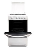 White gas-stove Royalty Free Stock Photo
