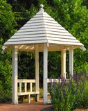 White Gazebo Stock Photo