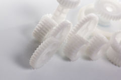 White gear. Royalty Free Stock Image