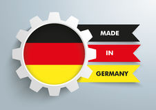 White Gear Made In Germany Stock Photos