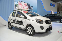 White geely panda cross car Stock Images
