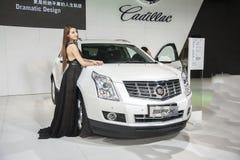 White geely srx car Stock Image
