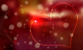 White gem and heart red background of which it gro. This image is a texture image of a White gem and heart red background of which it grows dim Stock Image