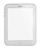 White generic computer tablet. Stock Photography