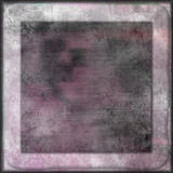 White geometric abstract shapes design on pink background Royalty Free Stock Photography