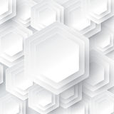 White geometric background. Can be used in cover design, book design, website background, CD cover, advertising stock illustration