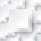 White geometric background. Can be used in cover design, book design, website background, CD cover, advertising Royalty Free Stock Photo