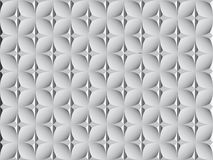 White geometric background textures. Tile with 3d pattern. 3D render vector illustration