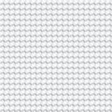 White geometric futuristic texture, seamless background Royalty Free Stock Photos