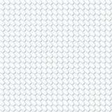 White geometric futuristic texture, seamless background Stock Image