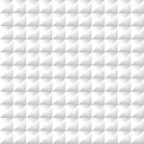 White geometric futuristic texture, seamless background Royalty Free Stock Images