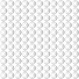 White geometric futuristic texture, seamless background Royalty Free Stock Image