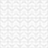 White geometric pattern background. Rectangle, square and polygon pattern background vector Stock Photography