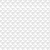 White geometric square seamless background Stock Images