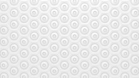 White geometric texture. Abstract geometric pattern Stock Images