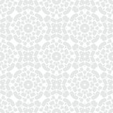 White geometric texture in art deco style Royalty Free Stock Image