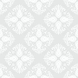 White geometric texture in art deco style Stock Image