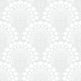 White geometric texture in art deco style Royalty Free Stock Photo