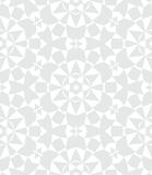 White geometric texture in art deco style Royalty Free Stock Images