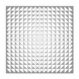 White geometric texture and background Stock Images