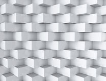 White geometric texture. Royalty Free Stock Photography