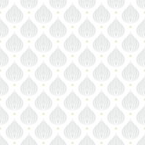 White geometric texture with drops Royalty Free Stock Image