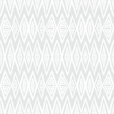White geometric texture with hand drawn chevrons Stock Photography