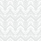 White geometric texture with hand drawn chevrons Royalty Free Stock Images