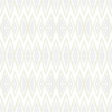 White geometric texture with hand drawn chevrons Stock Photos