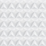 White geometric texture - seamless. Royalty Free Stock Photography