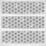 White Geometric Texture. Stock Photo