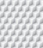White geometric texture. Vector seamless Royalty Free Stock Photos