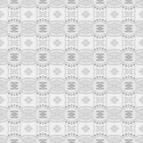 White geometry abstract seamless background Stock Photo