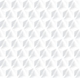 White geometry background. Royalty Free Stock Images