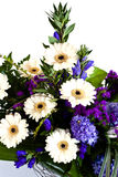 White gerbera bouquet Royalty Free Stock Photos