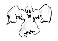 White ghost Stock Photography