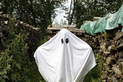 White ghost Royalty Free Stock Photography