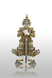 White Giant Statue in Thailand Royalty Free Stock Image