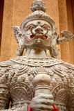 White giant statue Royalty Free Stock Images