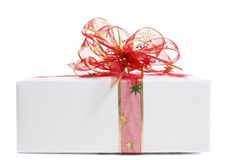 White gift Stock Photography
