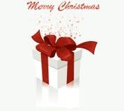 White gift box. Stock Photo