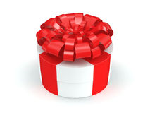 White gift box Royalty Free Stock Photo